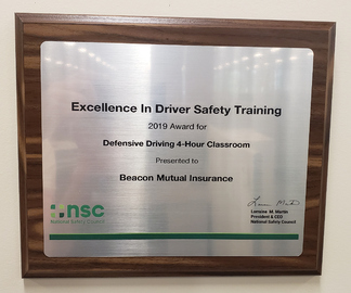 Driver Training Award crop