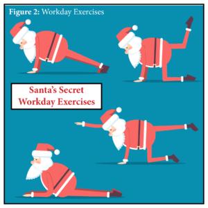 Santa Exercises Diagram